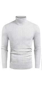 Men's Casual Slim Fit Turtleneck Sweater