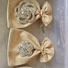 brooch party favors