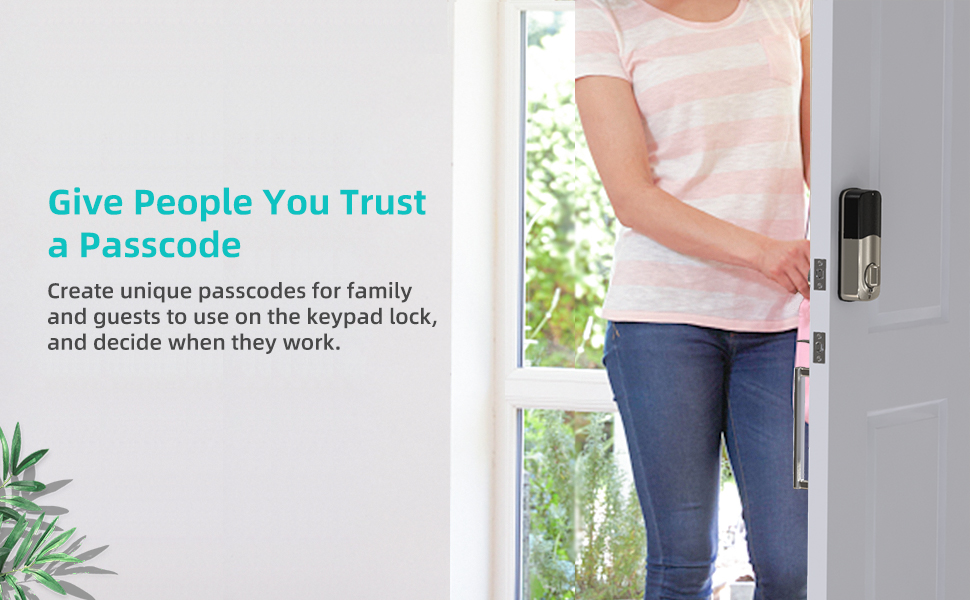 give people you trust a passcode