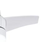 plafón con ventilador blanco