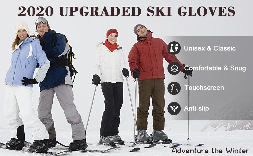 ski gloves snowboard gloves ski gloves men mcti ski gloves waterproof snow gloves waterproof