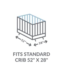 Fits a Standard Crib