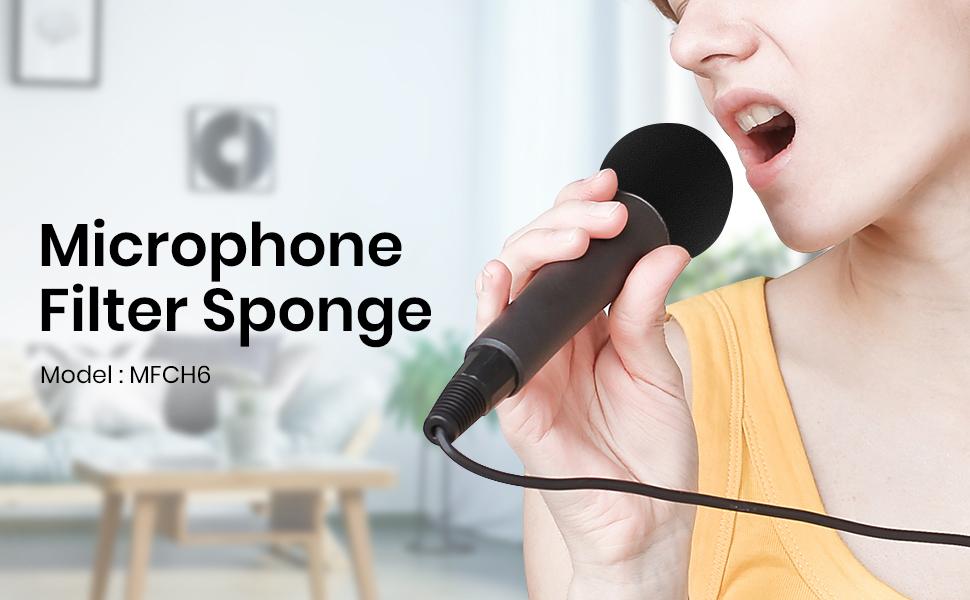 microphone covers foam
