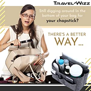Purse organizer insert handbag neverfull mm louis vuitton lv speedy felt