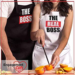 engagement gifts for couples hese matching aprons are an ideal choice for couples newlywed couple
