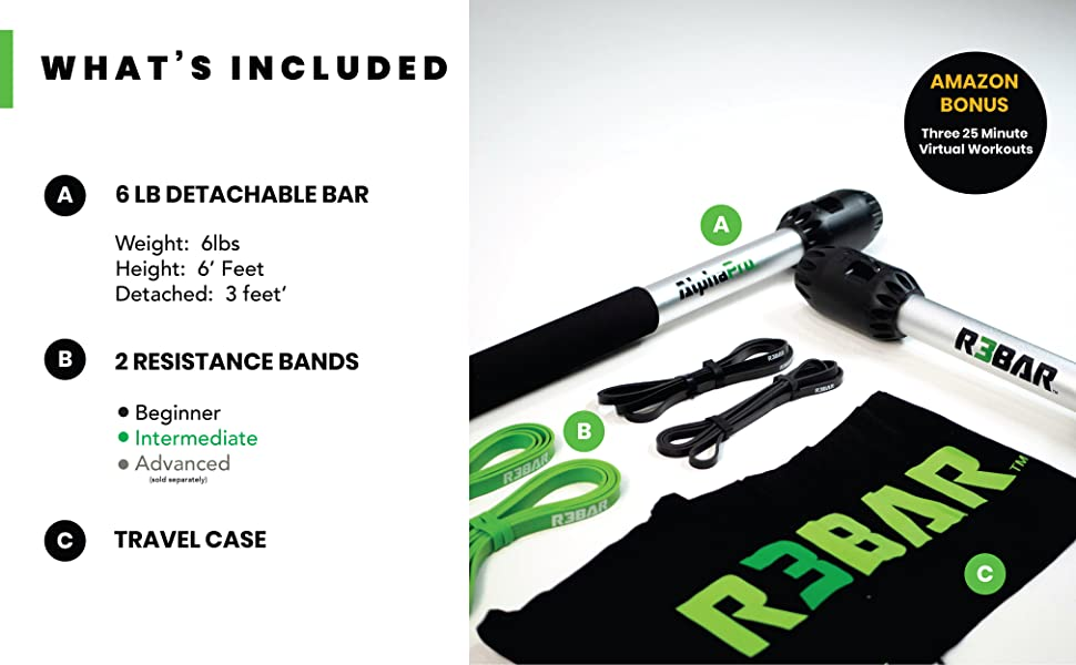 What's Included with R3BAR