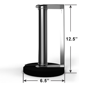 Dimensions of Standing Paper Towel Holder