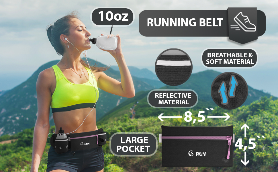 G-Run Hydration Running Belt