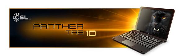 Panther Tab 10 Banner
