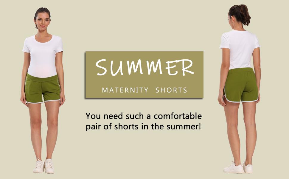 maternity sport shorts