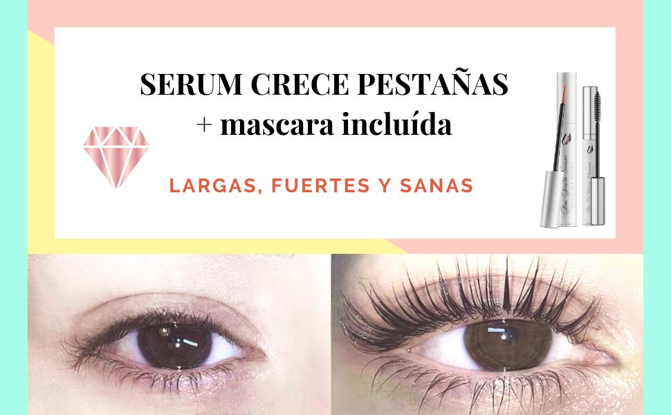 SERUM CRECE PESTAÑAS (5ml-5Meses) GANADOR 2020 + Mascara rimel ...