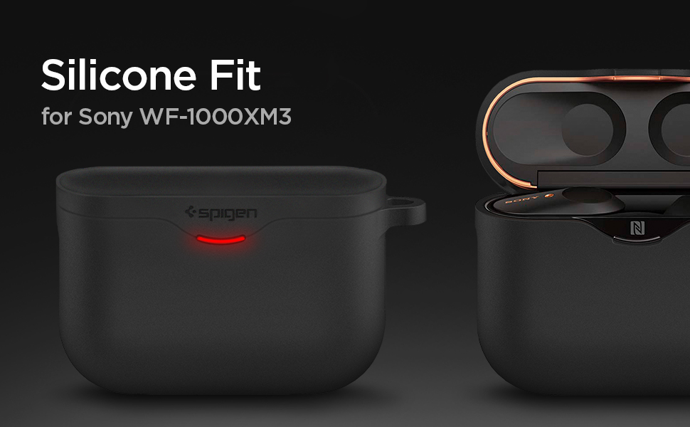 Spigen Silicone Fit Entwickelt Für Sony Wf 1000xm3 Elektronik