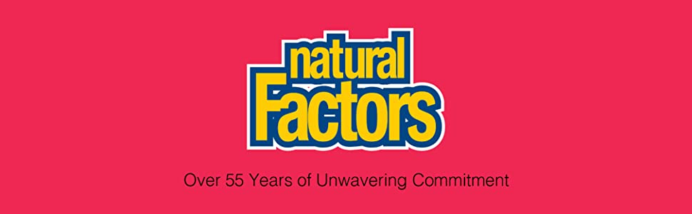 Natural Factors, over 55 years of unwavering commitment