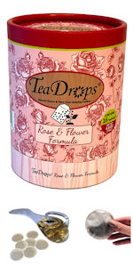 TeaDrops Liquid Rose Flowers Organic Plant Food Fertilizer Vermicompost Worm Castings Tea Packets
