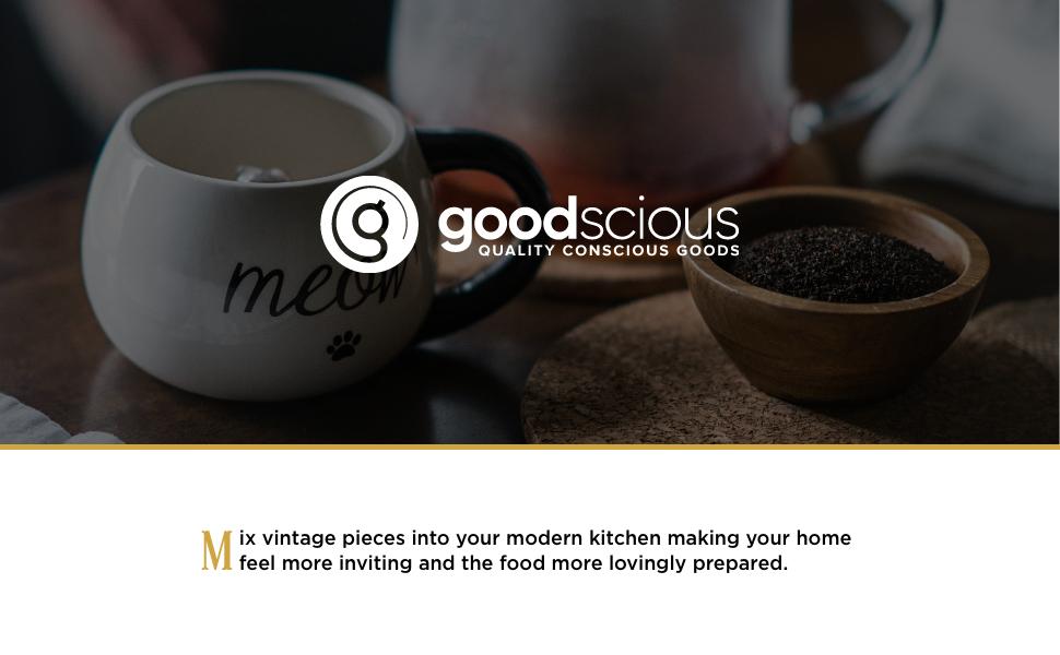 goodscious, header, introduction, product photos