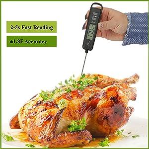 ultra fast instant quick reading accurate high precision temperature temp range sensor chip