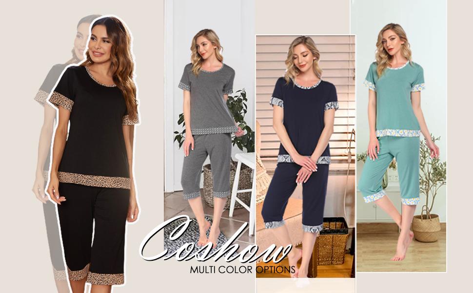 Coshow Womens Pajama Set