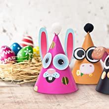 easter craft hats project