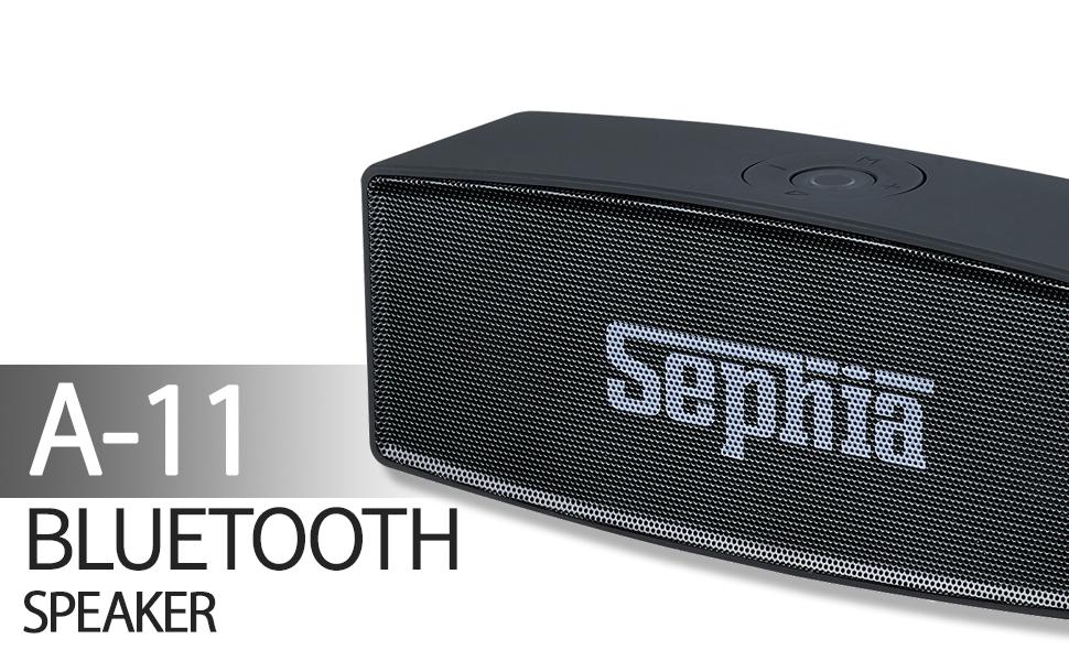 Sephia A11 Bluetooth wireless speaker