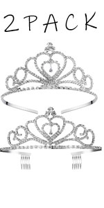 2 Pack Crowns set
