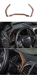 Dashboard Instrument Panel Cover Trim for Ford F150 2015 2016 2017 2018