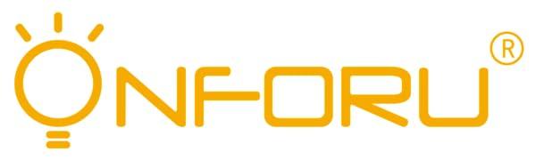 Onforu 60W Foco LED Exterior (2 Pack), 6000LM Super Potente ...