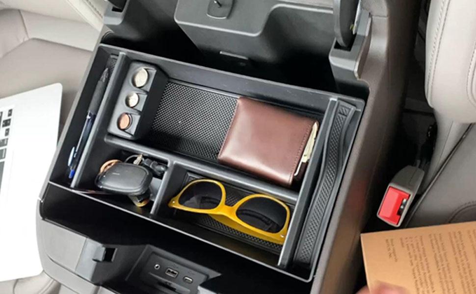 he center console organizer fits 2019 Chevy Silverado 1500 / GMC Sierra 1500