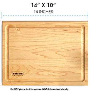 walnut charcuterie board maple wood cutting board large hardwood kitchen wooden chopping block thick