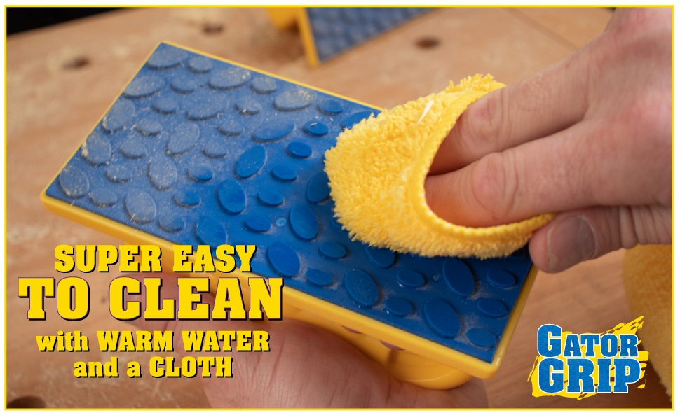 clean dust debris cloth wash