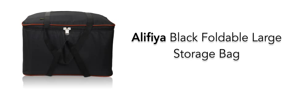Alifiya large storage bag and cloth storage bag