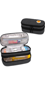 Double Layer Epipen Carrying Case