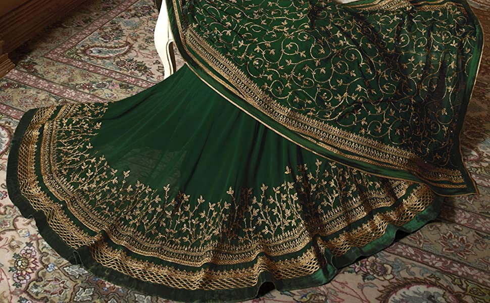 flared anarkali gown for woman