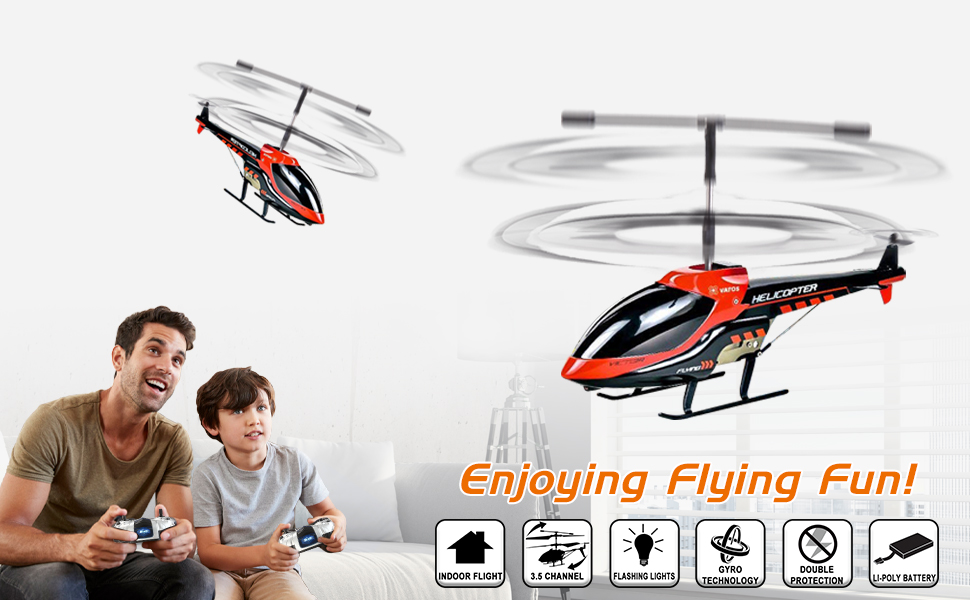 Remote Control Helicopter Indoor RC Helicopter 3.5 Channels Hobby Mini RC Flying Gift for Kids