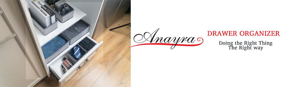 anayra drawer organisers,anayra drawer organiser divider,drawer divider,drawer dividers for clothes
