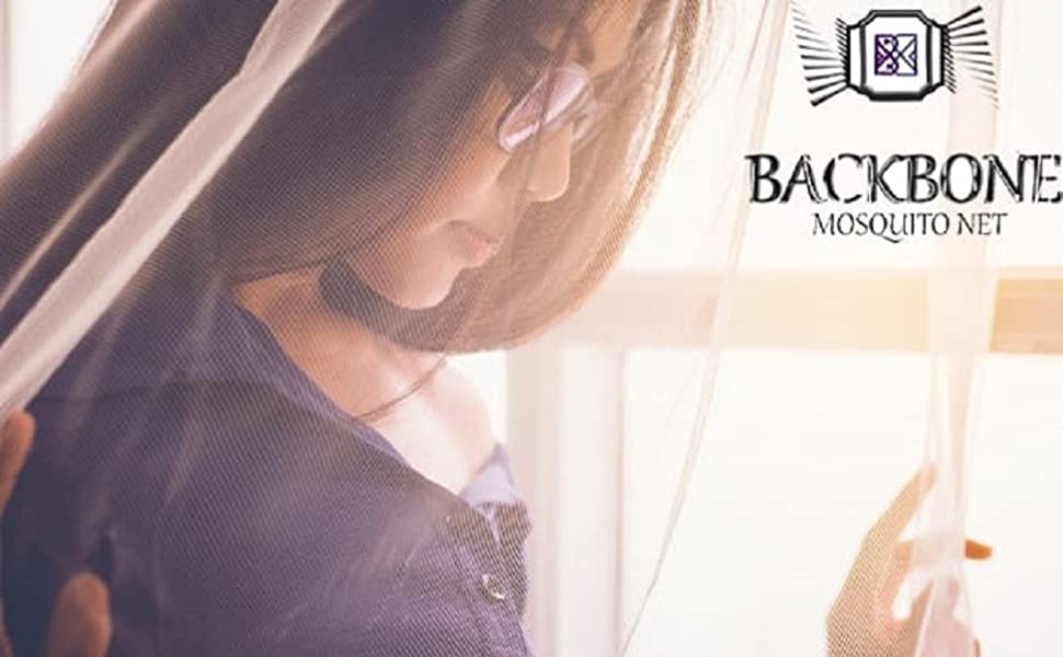 Backbone Double Bed Mosquito Net
