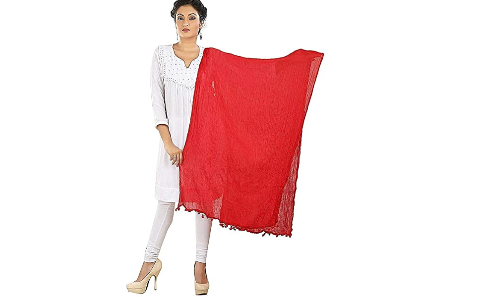 chunnis for women latest design combo cotton pack set of 7 multicolour kurta kurti suit girls