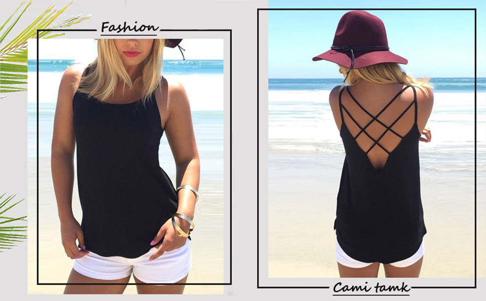 casual tank top for women