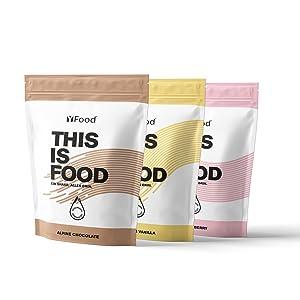 YFood Shaker | Shaker Proteína para gimnasio, Casa o trabajo | Sin BPA | Shaker de gimnasio premium & botella | 600ml
