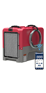 commercialdehumidifier in red