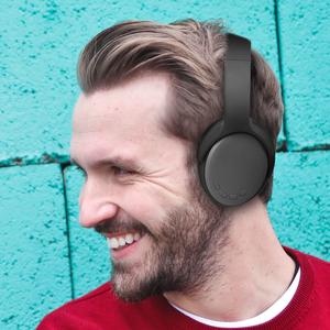 Folding Headphones with Storage Box AUX Radio FM Long Playback Wireless Headphones Headphones Siri