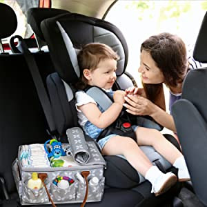 cover lid changing table car portable tote dresser drawer