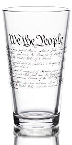 declaration pint glass