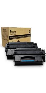 2pk 53x Black High Yield Toner Cartridge for HP Q7553X M2727 P2015 2014 FREEship