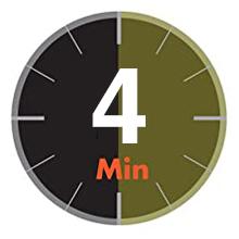 4 minutes operating time paper shredder