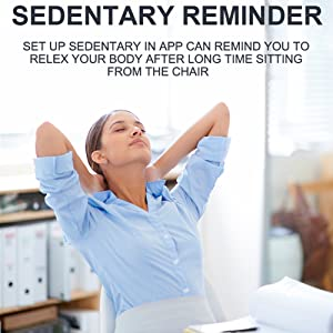 sedentary reminder smart watch for womens fitness tracker