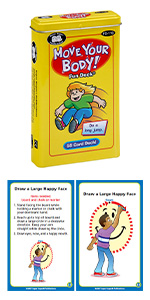 Move Your Body Fun Deck Occupational Therapy