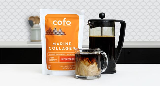 Cofo Provisions Marine Collagen, Fish Collagen, Clean Collagen, Unflavored Collagen, Coffee Collagen