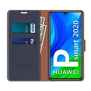 Custodia in Pelle Huawei P Smart 2020