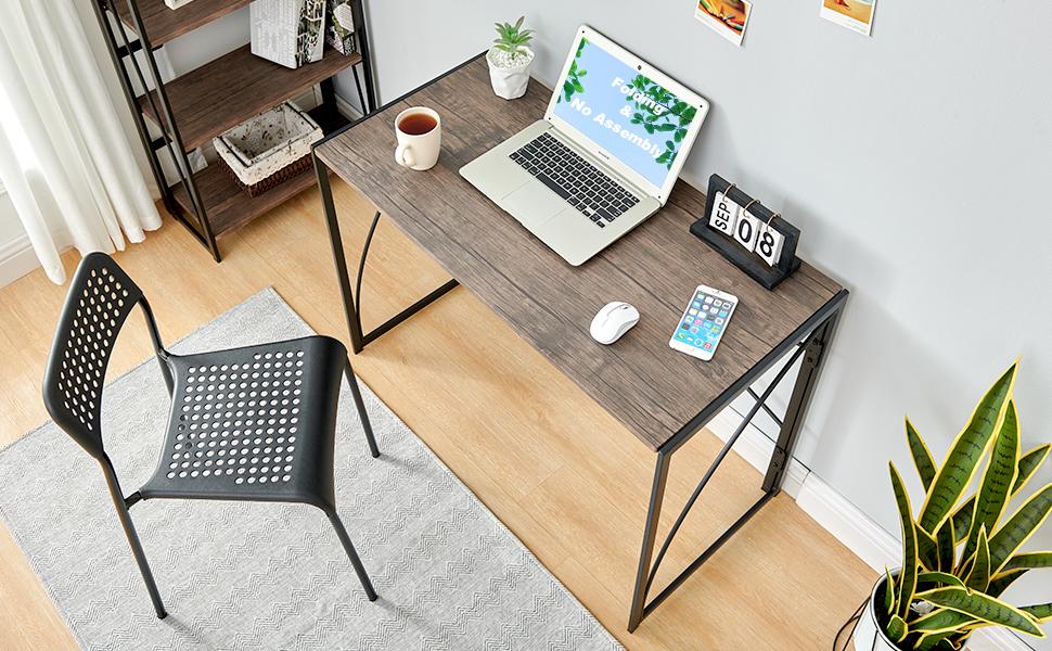 computer writing desk folding small table 11
