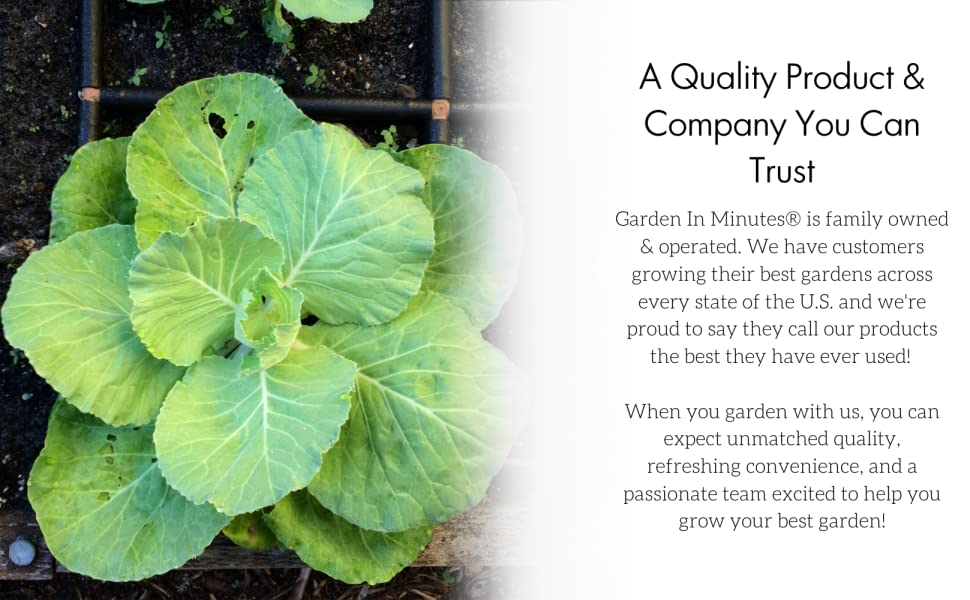 Garden irrigation system and planting guide in one! 3x3 Garden Grid\u2122 watering system